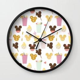 Magic Food Wall Clock