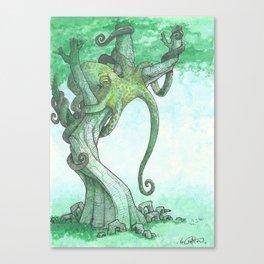 Fish Are Stupid Canvas Print