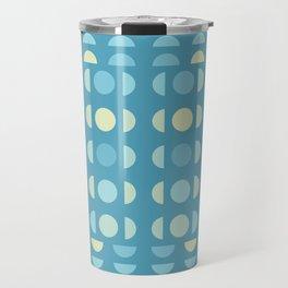 Shades Of Blue On Blue Travel Mug