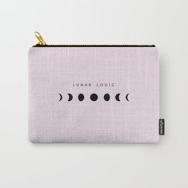 Trust the universe lunar magic moon phase pink Carry-All Pouch