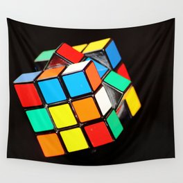Rubik's cube Wall Tapestry