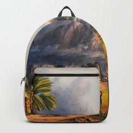 Esmeralda On The Orinoco Illustrations Of Guyana South America Natural Scenes Hand Drawn Backpack