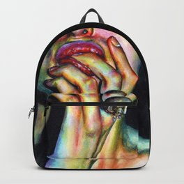 Your soul is yummy Backpack