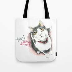 Hey! what's up? Tote Bag