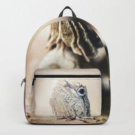 Frilled Neck Lizard Backpack