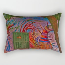 MAGIC HOUSE BOGOTA COLOMBIA Rectangular Pillow