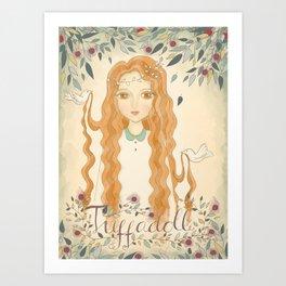 Queen Jodha Art Print