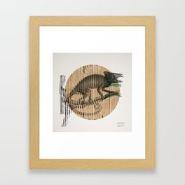 Karmaeleon Framed Art Print