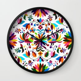 Mexico pattern Wall Clock