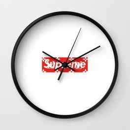 SUP X LOUIS V Wall Clock