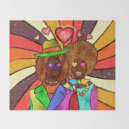 70's Love Throw Blanket