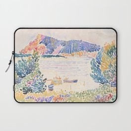 Cap Nègre by Henri-Edmond Cross 1909, French Laptop Sleeve