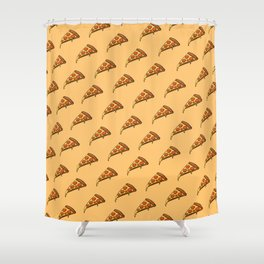 Pizza! Shower Curtain