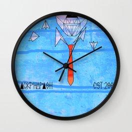 pyramids x paperplanes Wall Clock