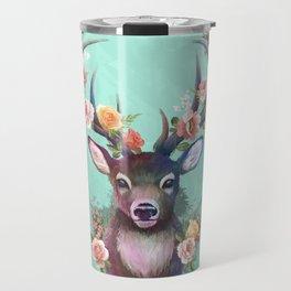 Deer of Spring Travel Mug