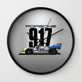 Marko, Lennep 1971 Spa - 917K Chassis 917-019 Wall Clock