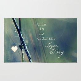 No Ordinary Love Story Rug