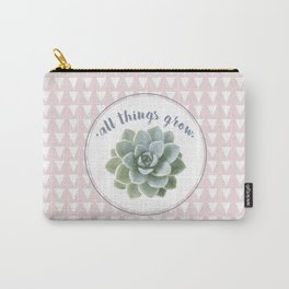 all things grow. Carry-All Pouch