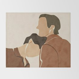 Call me by your name Movie Fanart Throw Blanket