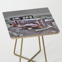 Rusting in the desert Side Table