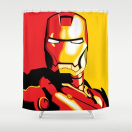 Iron Man Shower Curtain