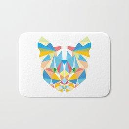 Diamond Kaleidoscopic Cat Bath Mat