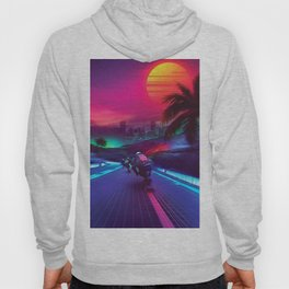Synthwave Midnight Outrun Hoody