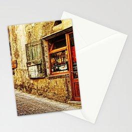 Tuscany, Italy Street Scene Stationery Cards