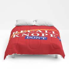 Recall Knope Comforters