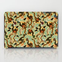 swimming iPad Cases featuring Swimming by Boiling Point Press