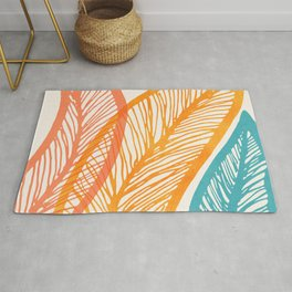 Tropical Flora - Retro Palette Rug