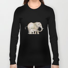 Mom and Baby Elephant 2 Long Sleeve T-shirt