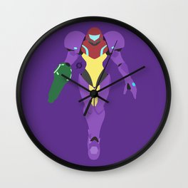 Samus(Smash)Gravity Suit Wall Clock