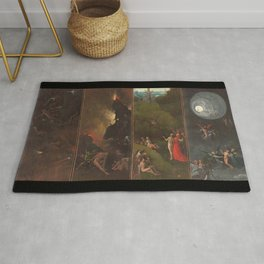 Visions of the Hereafter, Hieronymus Bosch Rug