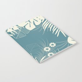 Tropical pattern 047 Notebook
