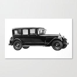 Vintage car - Packard eight limousine sedan Canvas Print