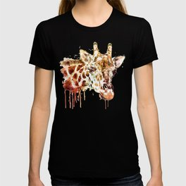 Giraffe Head T-shirt