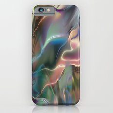 Neon Marble iPhone 6 Slim Case