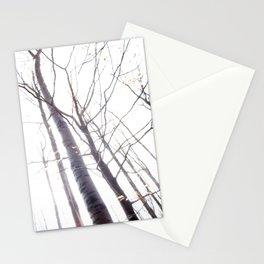 The winter trees Stationery Cards