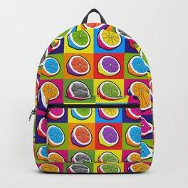 Lemons Pop Art Backpack