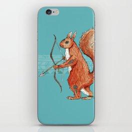 Drey, the Fire Squirrel iPhone Skin