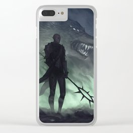 Last stand Clear iPhone Case