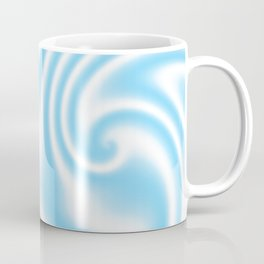 Blue Raspberry Ribbon Candy Fractal Coffee Mug