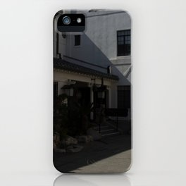 Shaded Koyasan Buddhist Temple iPhone Case