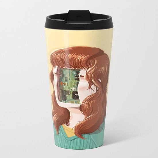 PCB Metal Travel Mug