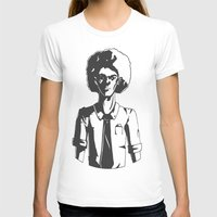 afro T-shirts featuring AFRO by LeoVarg