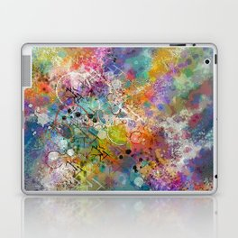 PAINT STAINED ABSTRACT Laptop & iPad Skin