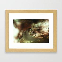 Blithe Emulsion Framed Art Print