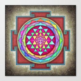 Sri Yantra VII.VI Canvas Print