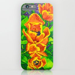 View of Tulips iPhone Case